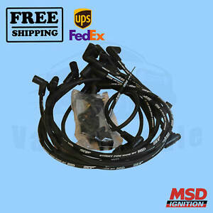 Spark Plug Wire Set MSD for Pontiac LeMans 74-1979