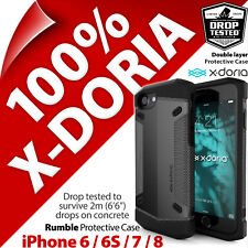 X-Doria Rumble Gear Protective Rugged Case Cover for Apple iPhone 6 / 6S / 7 / 8
