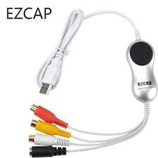 Original Ezcap USB Video Capture VHS,V8,8MM,Camcorder Converter to MAC Windows