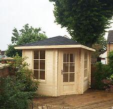 5 Eck Gartenhaus Blockhaus Gerätehaus 5 eckige gartenhäuser Holz 260x260,28mm