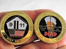 September 11th Mission Accomplished Challenge coin 9/11 Never Forget Seal Team 6