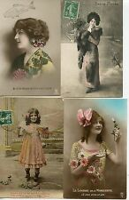 CARTE POSTALE / POSTCARD / FANTAISIE / LOT 25 CARTES / FASHION / CHILD / BABY