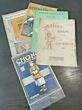 Vintage Sheet Music Lot Early 1900's and On Great Graphics! Art Deco