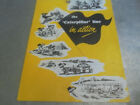 Vintage 1940's Brochure The Caterpillar Line in Action