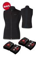 Lenz Damen-Heizweste Set Of Heat Vest 1.0 Women + Lithium Pack Rcb 1800