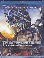 2 Blu-ray **TRANSFORMERS 2 ~ LA VENDETTA DEL CADUTO** Special Edition nuovo 2009
