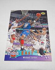 1992/93 Michael Jordan NBA Basketball Upper Deck East All-Star Insert Card #425