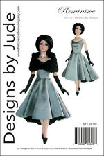 """Reminisce Doll Clothes Sewing Pattern 22"""" American Model Dolls Tonner"""