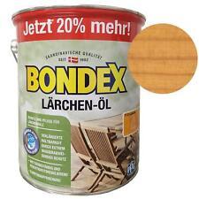 Bondex Lärchen-Öl 7122  Holz-Schutz Pflege Farbauffrischung 3 Liter