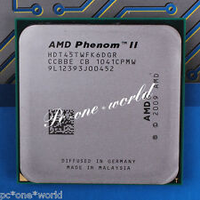 100% OK HDT45TWFK6DGR AMD Phenom II X6 1045T 2.7 GHz six-core Processor CPU