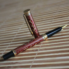 New Rare Old Stock, KSL Fountain Pen, Red·Color,  Dragon Pattern