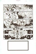 Establishment #13 p.21 - Mind Warp 'Walking Dead' Artist - by Charlie Adlard Comic Art