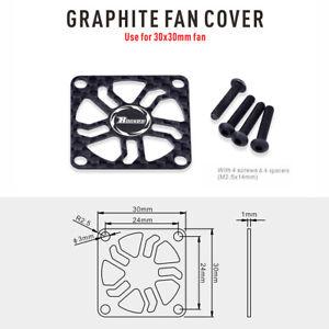 Surpass Rocket 30mm Graphite / carbon fibre Fan Cover Guard Low Weight UK Stock