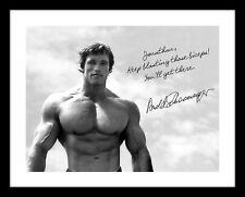 Arnold Schwarzenegger 11x14 Signed Print Name Personalized Exercise Creatine