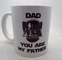 Dad you are my father Darth Vader 11oz funny 11oz ceramic mug fathers day xmas