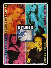 STUDIO 54 * ITALIAN ITALY ORIG MOVIE POSTER NM-M 1999