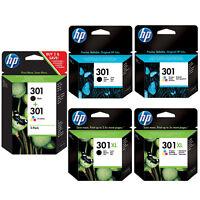 Genuine HP 301 Combo / 301XL Black & Colour Ink Cartridges *Choose your ink* VAT