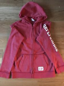 Abercrombie & Fitch - Zip Front - Hoodie Kids Large age 13/14 - RED