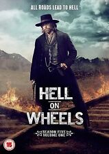 Hell on Wheels Complete Series 5 Vol 1 DVD All Episodes Fifth Season UK NEW R2