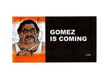 "GOMEZ IS COMING Jack Chick Christian Bible Gospel JESUS Mini 5"" x 2.75"" Tract"
