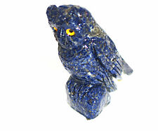 Lapis Lazuli crystal Owl 70mm tall .Inner Vision,Intuitive Dreams