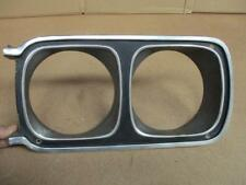 69 Roadrunner LH Headlight bezel   Nice Original Mopar --  Take a Look