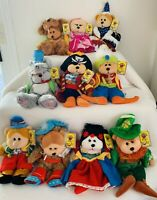 Skansen Beanies Kids X 10 Lot, Story Book, Bears, Dolls, #20, NEW With Tags