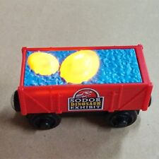 LOOSE LEARNING THOMAS WOODEN MAGNETIC TRAIN- DINO EGG DELIVERY CAR W/ LIGHT