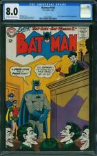 Batman 163 CGC 8.0 -- 1964 -- Joker Judge and Joker Jury.  Moldoff. #2017375007