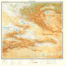 Russian Soviet Aeronautical Charts - SEMIPALATINSK (Kazakhstan), 1:2M, ed.1974