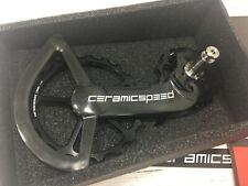 CeramicSpeed Oversized Pulley Wheel System For Shimano DA9100 & ULT8000 (Black)