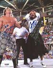 Brutus The Barber Beefcake & Jimmy Hart Signed WWE 8x10 Photo PSA/DNA COA Auto'd