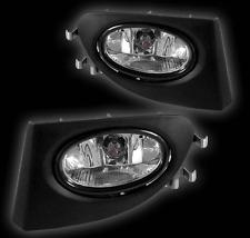 02-05 HONDA CIVIC SI EP3 HB JDM/OEM CLEAR BUMPER FOG LIGHT LAMP+ WIRING+ SWITCH