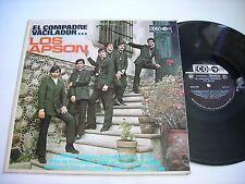 Los Apson El Compadre Vacilador 1969 LP VG++