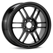 Enkei RPF1 18x8.5 Wheel Lightweight Racing Black 5x114.3 + 30 R32 R34 18 BY 8.5