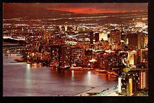 c1960 Nani Li'i photo by Don Dominick overview Waikiki Hawaii postcard