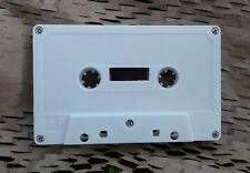 C-90 blank audio cassette tapes 90 minutes white $1.49ea music C90 high quality