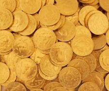 Gold Coins Milk Chocolate Candy, Half Dollar Candy (2 Pounds Bag)