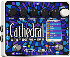 New Electro-Harmonix EHX Cathedral Stereo Reverb Guitar Effects Pedal