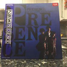 OG M- Presence LP Vinyl Record Osamu Kitajima Shonen Knife Japan + Inserts