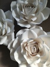 Giant/Large Paper Flower Rose For Weddings Birthdays Showers Parties Wall Decor