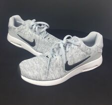 Nike Air Max Modern Flyknit Wolf Grey/Black 876066-001 Men's Running Shoes Sz 10