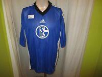 """FC Schalke 04 Original Adidas Trikot 1996/97 """"FC Schalke 04 Wappen"""" Gr.XL TOP"""