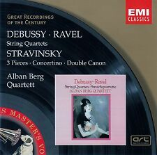 DEBUSSY, RAVEL, STRAVINSKY - ALBAN BERG QUARTETT / CD - TOP-ZUSTAND