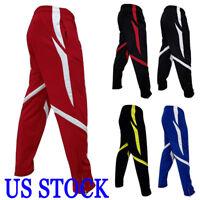 US Men Sport Pants Long Trousers Tracksuit Fitnes Workout Joggers Gym Sweatpants