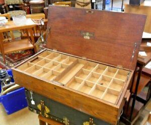 Antique Radio Case by Waring & Gillow -1927 Originally Made for Met-Vick Radio 5