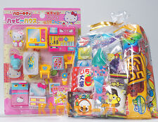 Hello Kitty House Miniature Play Set Toy with Japanese Candy Snack Assorted