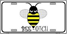 BEE-OTCH Metal Novelty License Plate Tag