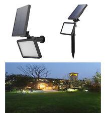 48 LEDs Solarstrahler Außen Leuchte Solarstrahler Sensorlicht Solarspot Solar