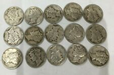 New listing $1.50 Face value mercury dime collection 90% Silver No Reserve